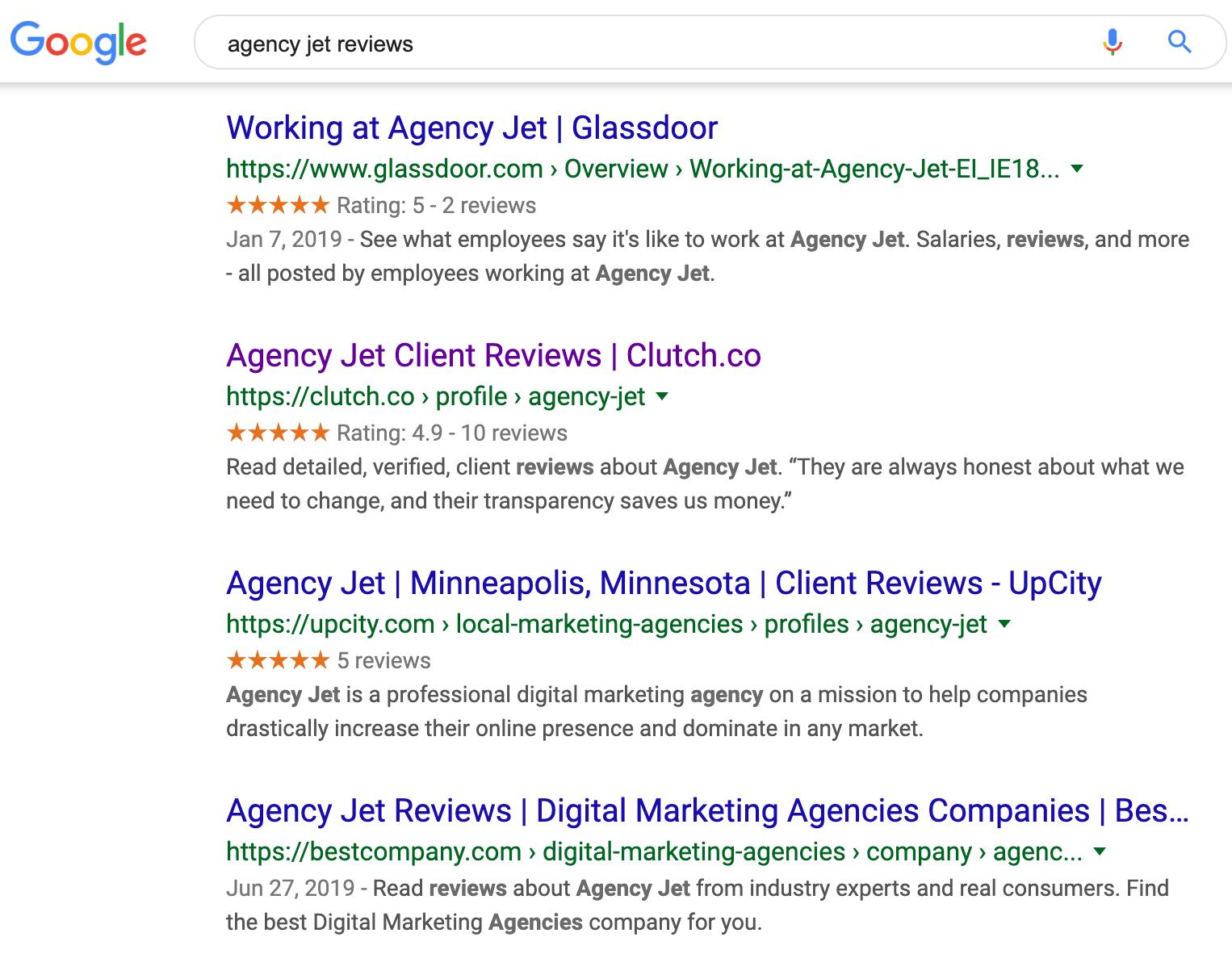 Agency Jet Reviews | Agency Jet