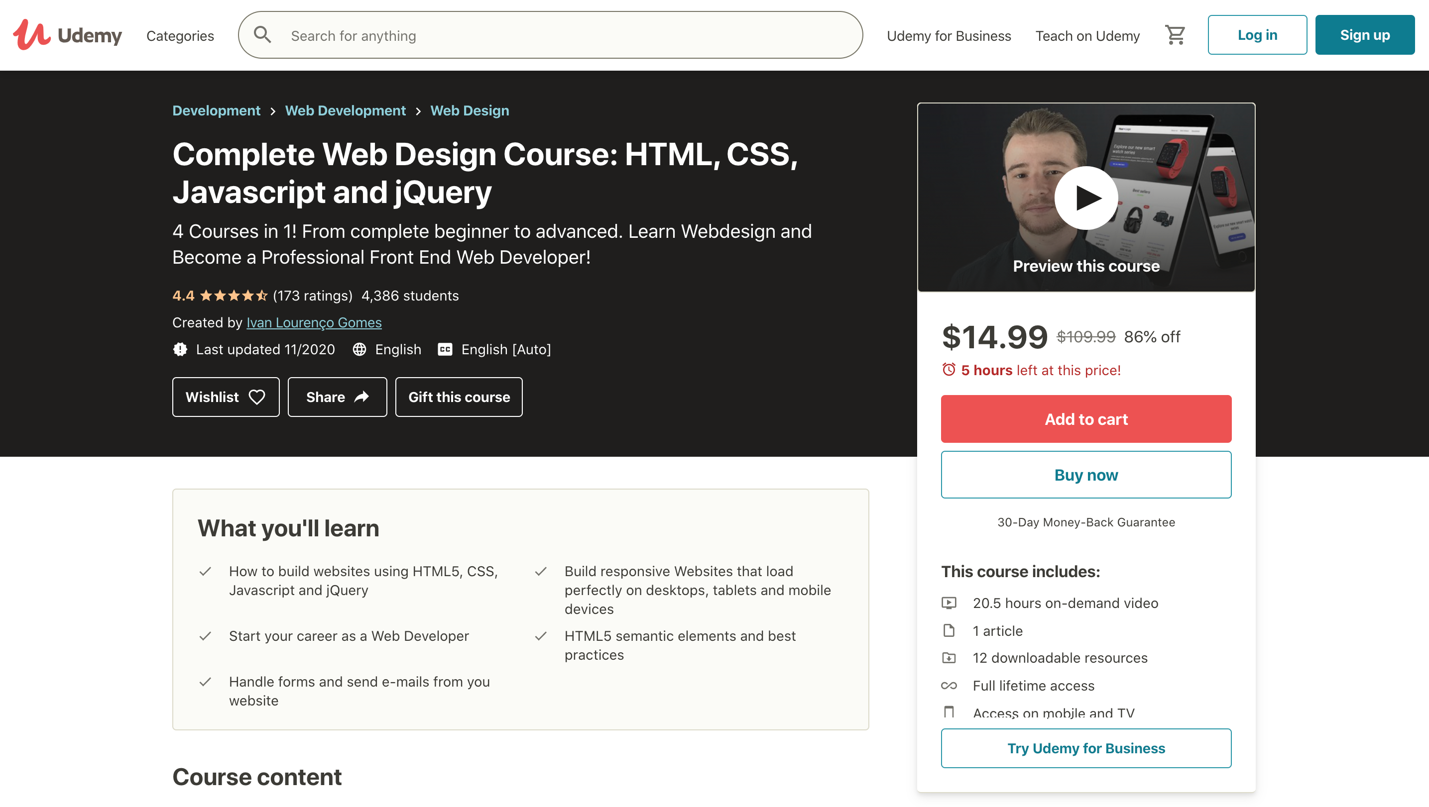 Complete-Web-Design-Course-HTML-CSS-Javascript-and-jQuery-Udemy