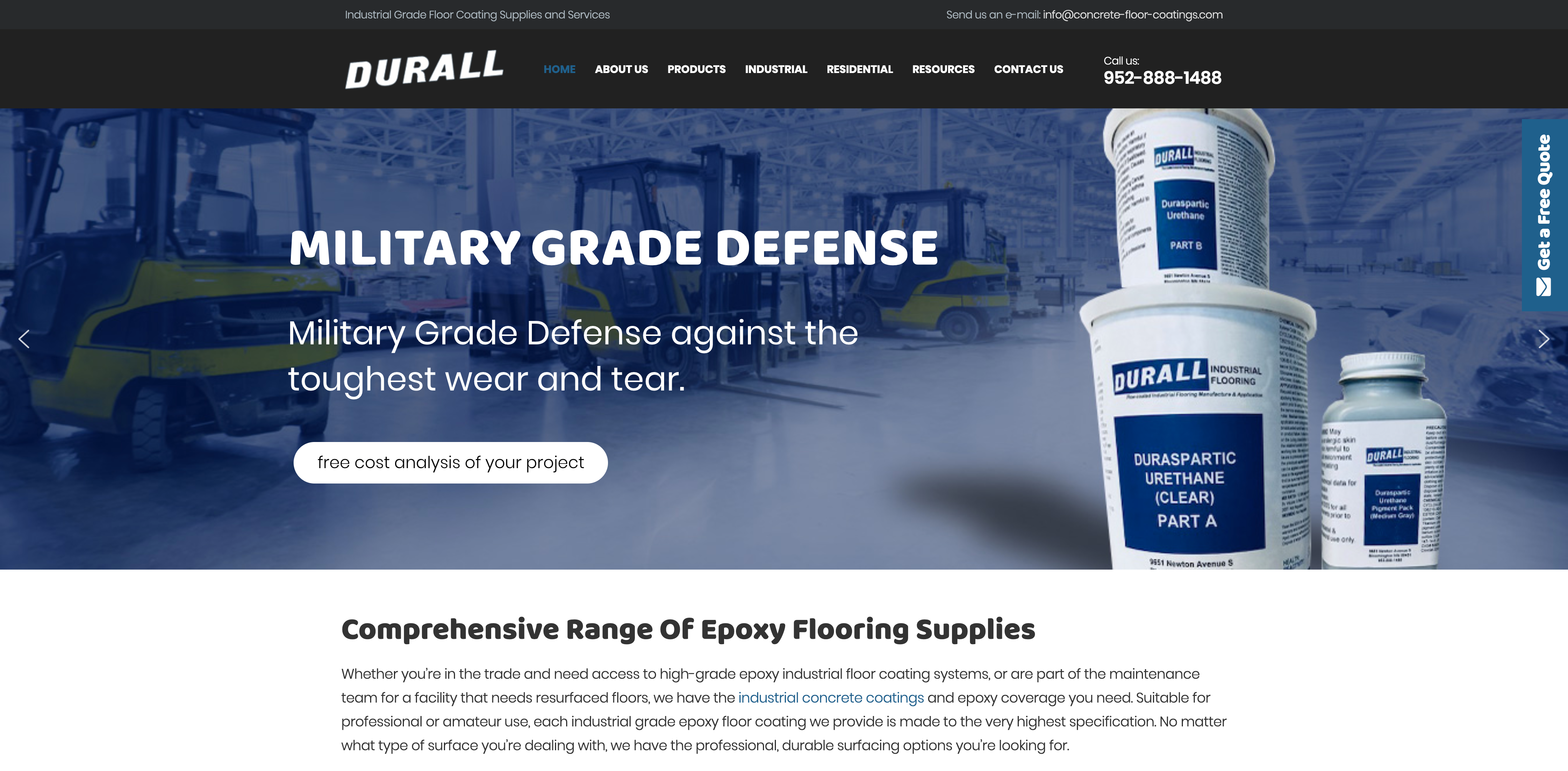 Durall Manufacturing | Agency Jet
