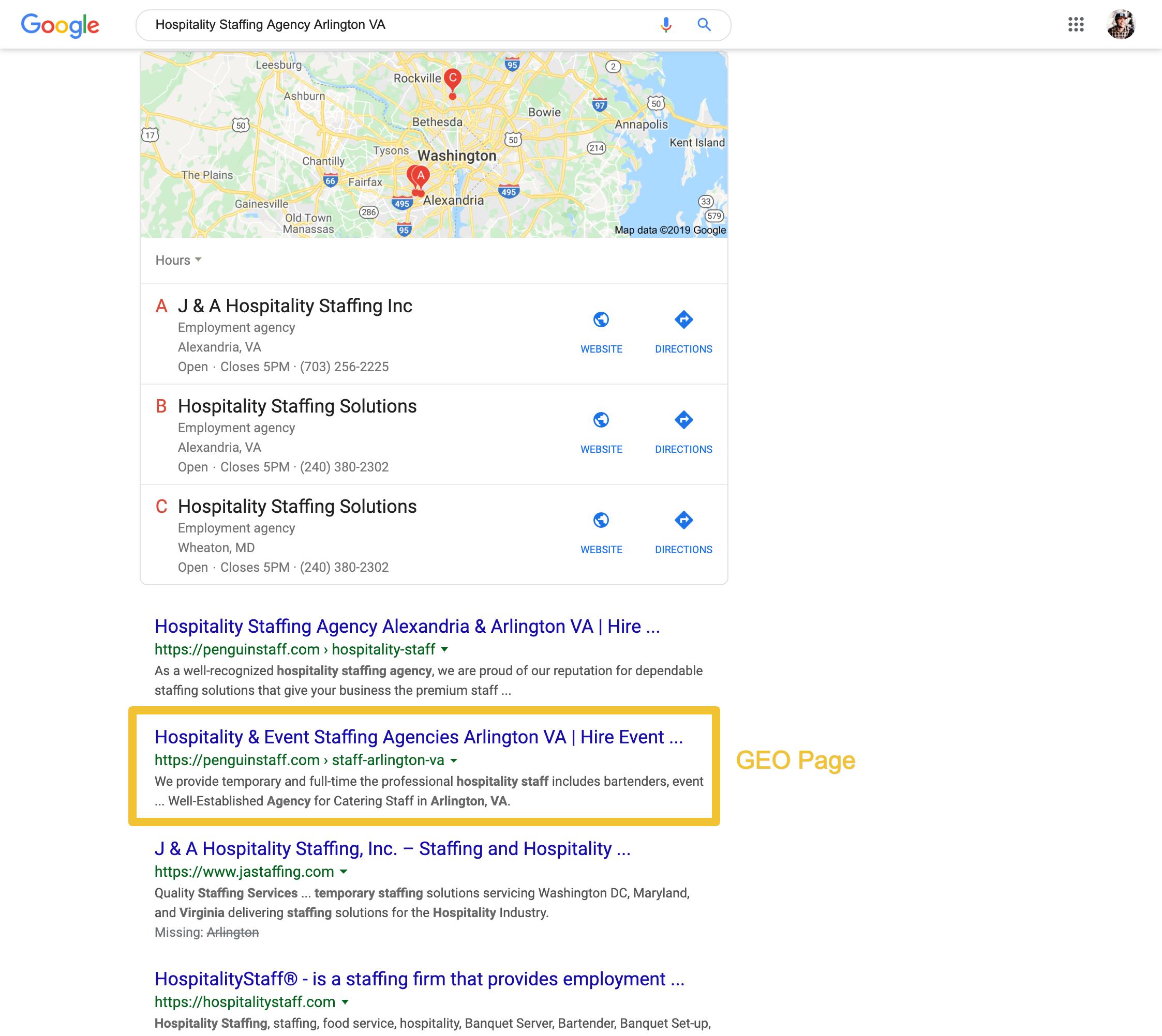 Hospitality Staffing Agency Arlington VA - Google Search