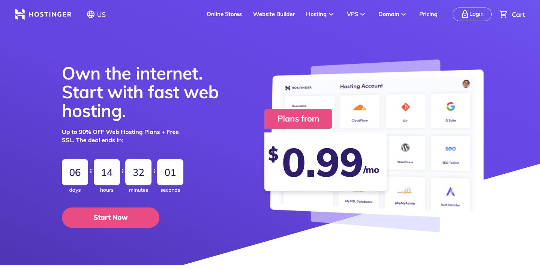 Hosting-Platform-Go-Online-With-Hostinger-For-Only-0-99-Now