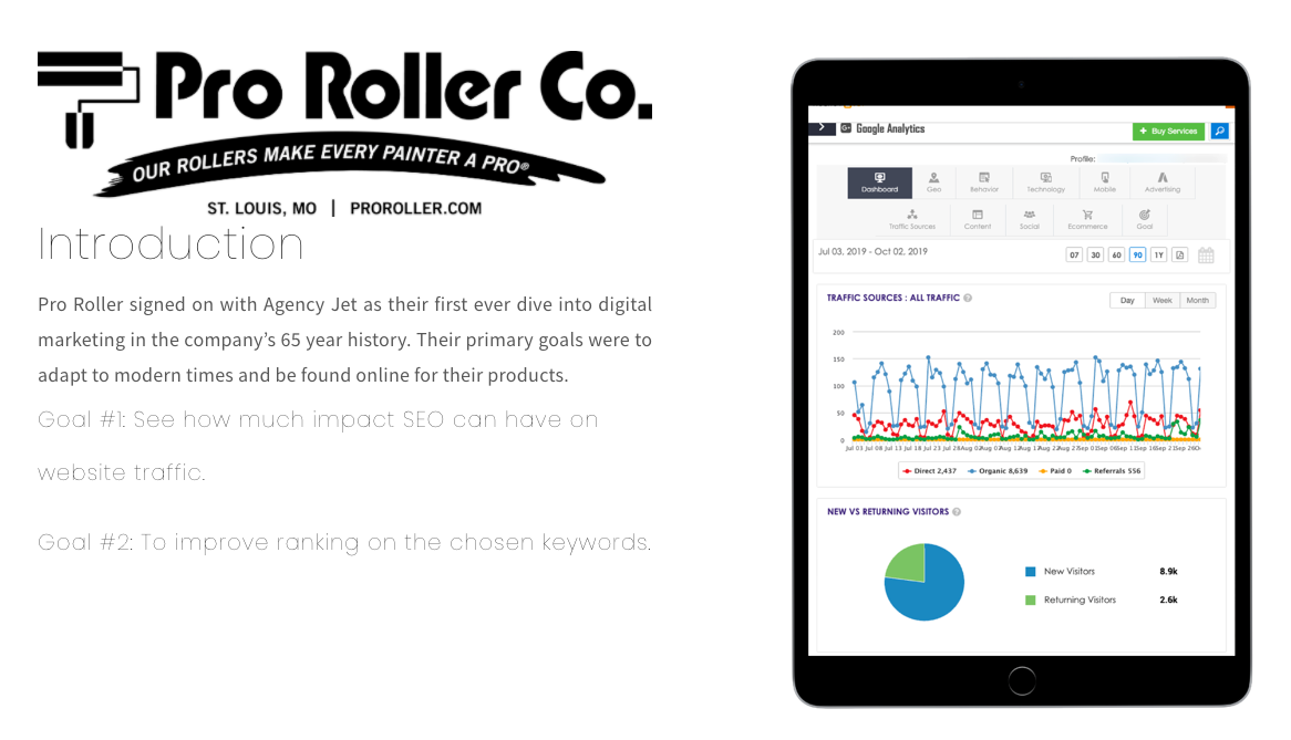 SEO_Case_Study_Pro_Roller_Agency_Jet