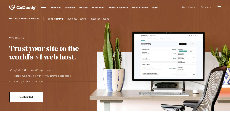 Web-Hosting-Lightning-Fast-Hosting-One-Click-Setup-GoDaddy