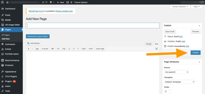 WordPress Publish - Agency Jet