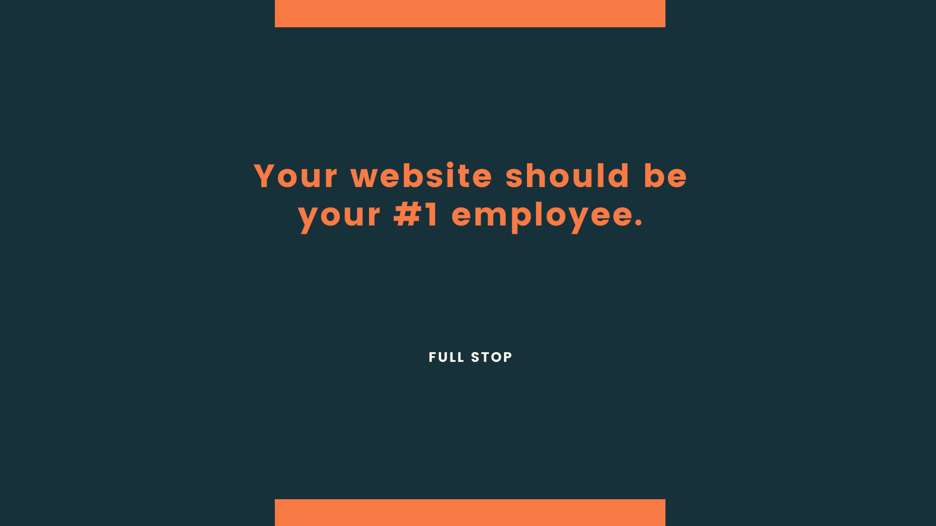 Your website should be your #1 employee - Agency Jet