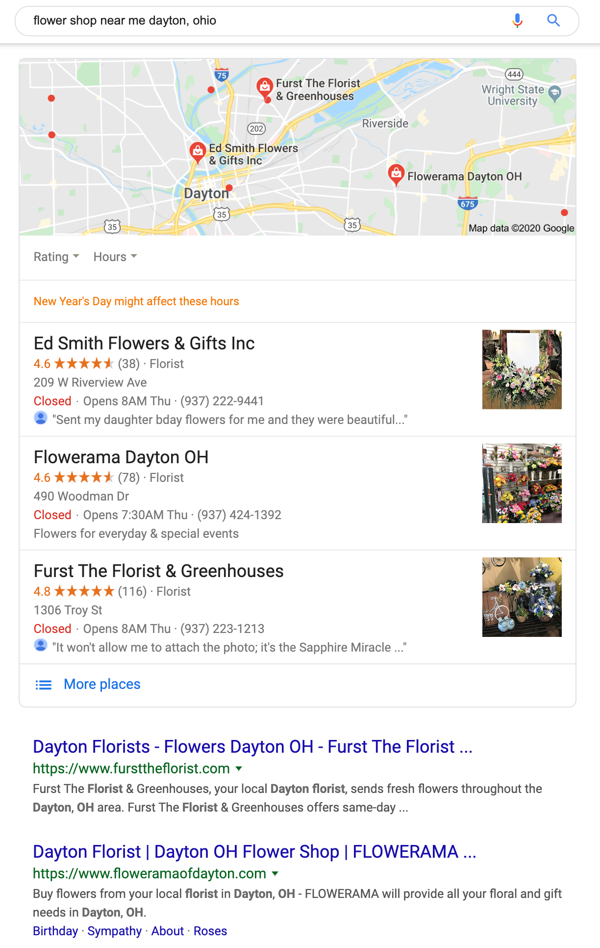 flower shop near me dayton  ohio - Google Search | Agency Jet