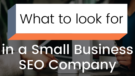 What to look for in a small business SEO Company | Agency Jet